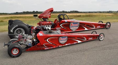Jr Race Cars And The Ihra Summit Superseries Partner Once Again