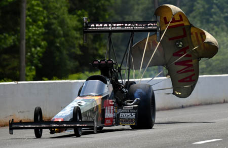 CHICAGO - Top Fuel Veteran Terry Mcmillen Believes He's A