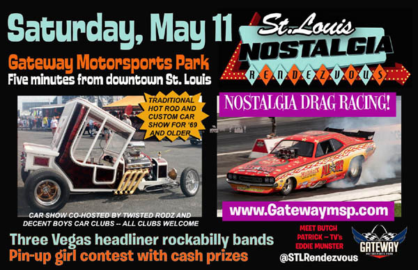 Sixth Annual St  Louis Nostalgia Rendezvous May 10-11